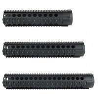"AR-10 .308 12"" FREE FLOAT QUADRAIL HANDGUARD WITH BARREL NUT"