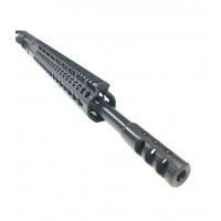 "AR-10 .243 WIN 20"" SPR keymod upper assembly with BCG and CH"