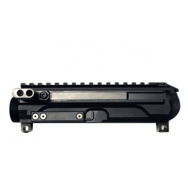 "AR-9 10.5"" Spartan Side Charging LRBHO Pistol Cal Complete Upper Assembly with BCG - 9MM - Make It A Complete Kit"