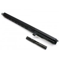 "AR-40 12"" Side Charging LRBHO Pistol Cal Complete Upper Assembly with BCG - .40 S&W"