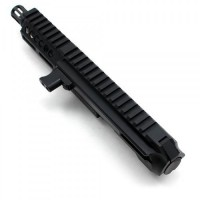 "AR-40 4"" Side Charging LRBHO Pistol Cal Complete Upper Assembly with BCG - .40 S&W"