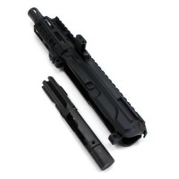 AR 10MM 4″ Pistol Caliber Side Charging LRBHO Complete Upper with BCG – 10mm