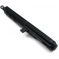 "AR-9 8"" Side Charging LRBHO Pistol Cal Complete Upper Assembly with BCG - 9MM - Make It A Complete Kit"