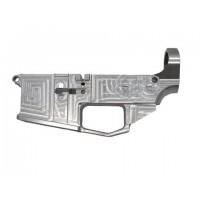 AR-15 80% billet lower receiver with trigger guard, raw