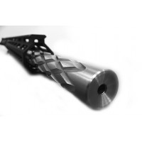 "AR-15 5.56/.223 20"" stainless steel diamond fluted tactical bull upper assembly"