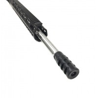 "AR-15 6.5 Grendel 20"" fluted stainless steel competition upper assembly"
