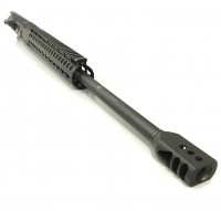 "AR-10 .308 24"" Black Hole Weaponry stainless steel in black upper assembly with xtreme muzzle brake"