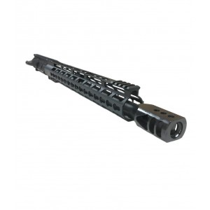 "AR-15 .458 SOCOM 16"" Upper Build with 15"" Slim Keymod and Charging Handle"