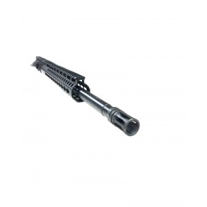 "AR-15 6.5 Grendel 18"" nitride upper assembly with slim keymod rail"