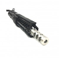 "AR-15 5.56 7.5"" stainless steel barrel upper assembly LEFT HAND"