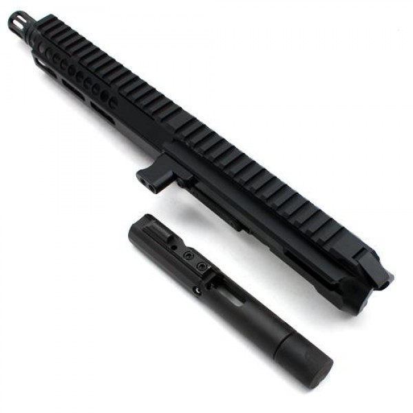 "AR-45 .45 ACP 8"" LRBHO SIDE CHARGING UPPER WITH BCG"