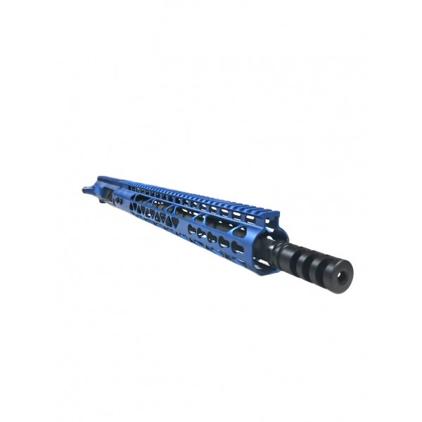 "AR-15 5.56/.223 16"" M4 BLUE ""PREDATOR"" UPPER ASSEMBLY"