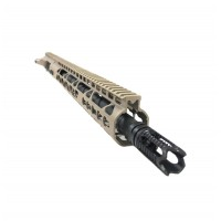 "AR-15 5.56/.223 16"" M4 FDE ""PREDATOR"" UPPER ASSEMBLY"
