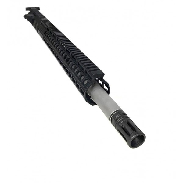 "AR-10 .308 18"" Ballistic Advantage Stainless Steel In Nitride Upper Receiver Assembly - DPMS Style"