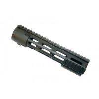 "AR-10 .308 10"" Thin Profile Free Floating Handguard With Removable Rails & Monolithic Top Rail"