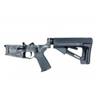 Moriarti Armaments MA-308 Enhanced Complete Lower Receiver w/ Magpul MOE & STR - Black