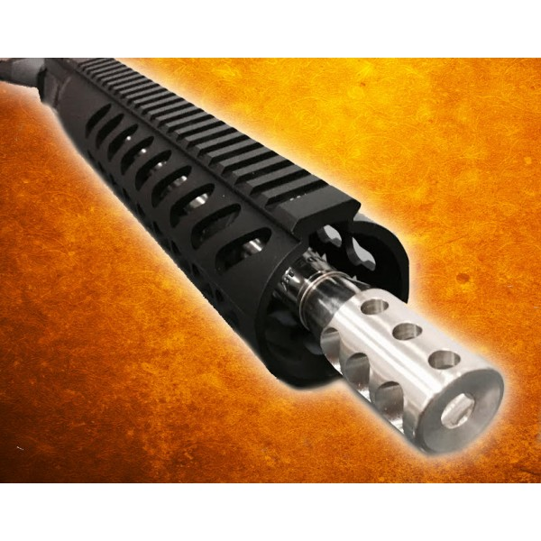 "AR-15 300 AAC blackout 10.5"" stainless steel classic keymod upper assembly"