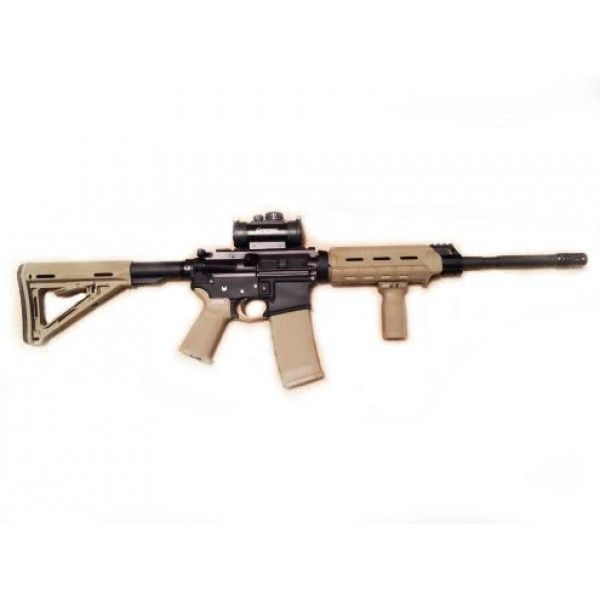 "AR-15 300 Blackout AAC 16"" Magpul Moe Defender Rifle Kit - Various Colors"