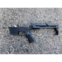 AR-9 9MM GLOCK STYLE COMPLETE LOWER W/ BAD OVERT STOCK