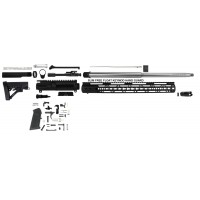 "AR-15 5.56/.223 Wylde 18"" stainless steel rifle kit w/ 15"" slim rail"