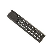 "AR-15 9"" ULTRA SLIMLINE OCTAGONAL 5 SIDED KEY MOD FREE FLOATING HANDGUARD WITH MONOLITHIC TOP RAIL"