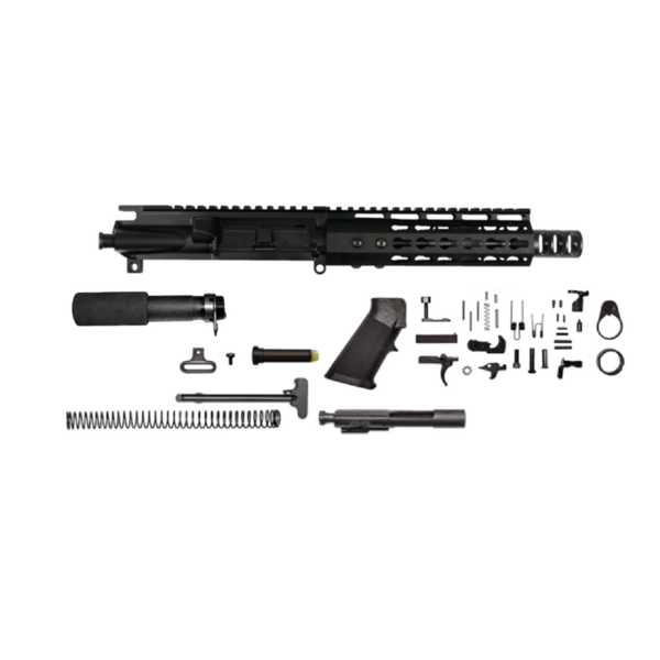 "AR-15 6.8 SPCII 10.5"" M4 keymod tactical pistol kit"