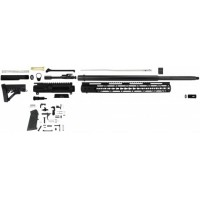 "AR-15 5.56/.223 20"" RIFLE BUILD KIT W/15"" SLIM MLOK AND LE STOCK"