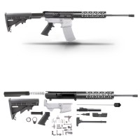 "AR-10 6.5 CREEDMOORE 20"" RIFLE BUILD KIT W/15"" FREE FLOAT HANDGUARD"
