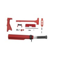 AR-15 RED ANODIZED ACCESSORY ACCENT KIT