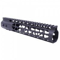 "AR-15 10"" AIR LITE KEYMOD FREE FLOATING HANDGUARD WITH MONOLITHIC TOP RAIL"