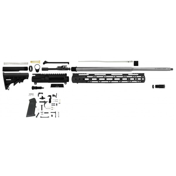 AR-15 .224 Valkyrie 24″ stainless steel premium rifle kit