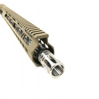 "AR-15 5.56/.223 16"" LIGHTWEIGHT UPPER WITH 15"" FDE SLIM FREE FLOAT"