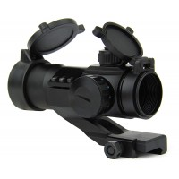 1X30 DUAL ILL. RED/GREEN DOT SIGHT WITH CANTILEVER MOUNT