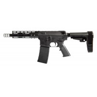 AR-15 COMPLETE PISTOL SHORTIE – 7.5 INCHES / 5.56 NATO / M-LOK RAIL / AERO PRECISION LOWER