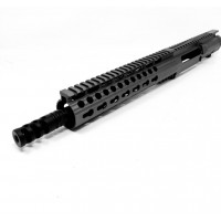 "AR-10 308 10.5"" Pistol Upper Receiver Assembly in Black, Left Hand - Choose Barrel Size"