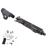 "AR-9 9MM 4.5"" ENHANCED PISTOL BUILD KIT W/ SBA3 BRACE"
