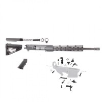 "AR-9 9MM 16"" carbine tactical rifle kit w/ 12"" slim keymod rail and Roger Stock"