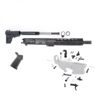 "AR-15 6.5 GRENDEL 12.5"" PREMIUM PISTOL KIT W/ MAGPUL GRIP & SHOCKWAVE"