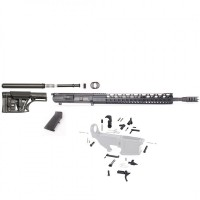 "AR-10 .308 18""  SPR Shark Rifle Kit with 15"" Keymod and Luther Stock"