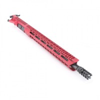 "AR-15 5.56/.223 16"" M4 RED ""PINEAPPLE"" UPPER ASSEMBLY"