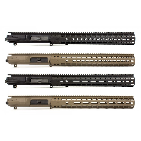 .308 Aero Precision M5E1 Upper Receiver/Enhanced Handguard Set - Black