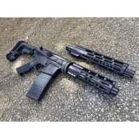 "AR-15 Moriarti Duo TakeDown Semi Auto Pistol | 5.56 Nato 10.5"" and 300 Blk 7.5"" 