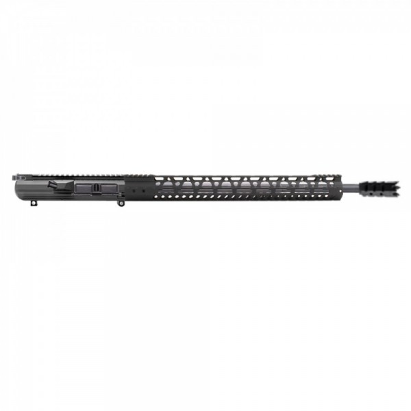 "AR-10 .308 20'' RIFLE LENGTH COMPLETE UPPER W/18"" M-LOK, BCG AND CH"