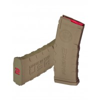 Amend2 30 Round AR15/M4 Magazine w/ Red Follower, 5.56 x 45 - Flat Dark Earth