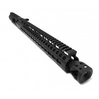 "AR-9 16"" Side Charging LRBHO Complete Upper Assembly with BCG - 9MM"