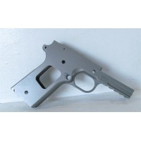 "1911 80% 5"" Stainless Steel Railed Frame - Tactical"