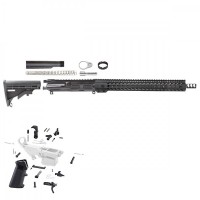 "AR-9 9MM 16"" RIFLE BUILD KIT W/15"" SUPER SLIM KEYMOD RAIL, NON LRBHO"
