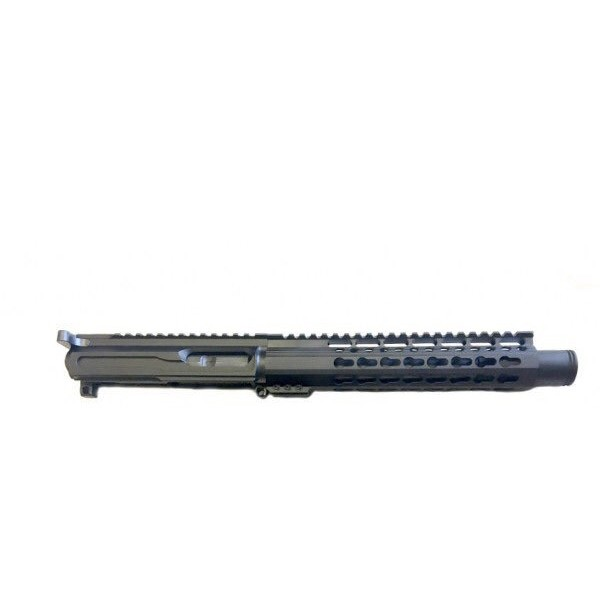 "AR-45 .45 ACP 8"" LRBHO ""SLICK SIDE"" CONE PISTOL UPPER HALF WITH RAMPED BCG AND CHARGING HANDLE"