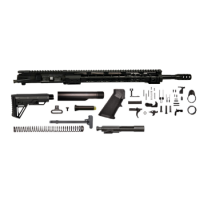 "AR-15 6.5 Grendel 18"" slim rail rifle kit with Cobra Stock"