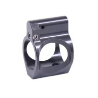 AR ULTRALIGHT SERIES SKELETONIZED ADJUSTABLE STEEL LOW PROFILE GAS BLOCK